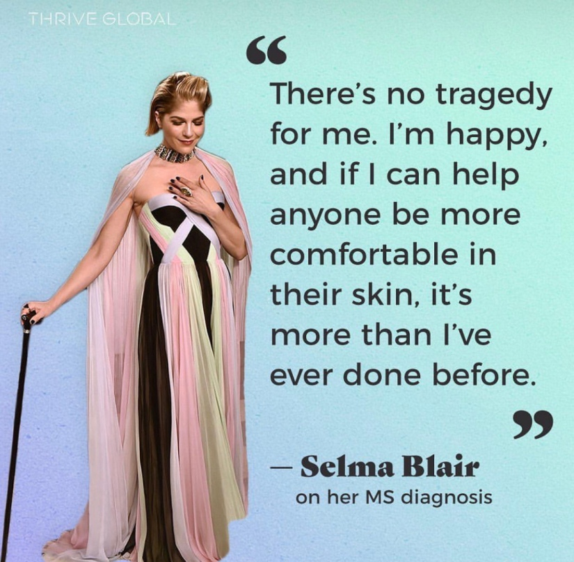 Selma Blair MS